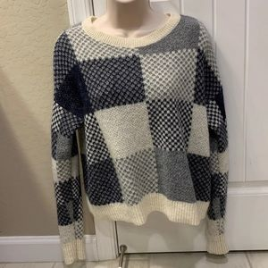 Plaid Abercrombie and Fitch Sweater